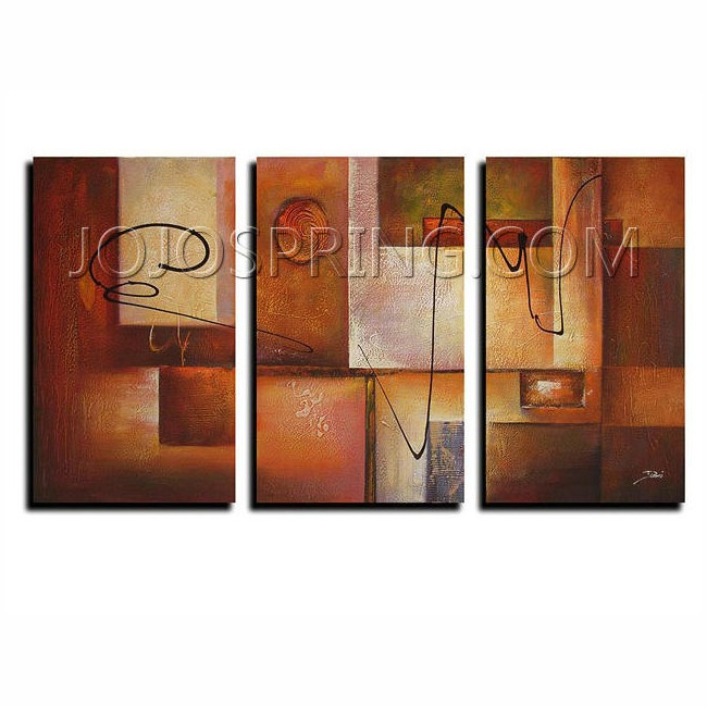 Abstract 11 3-piece Canvas Art Set