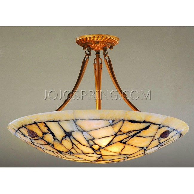 Alabaster Stone Five-light Ceiling Lamp - K243G