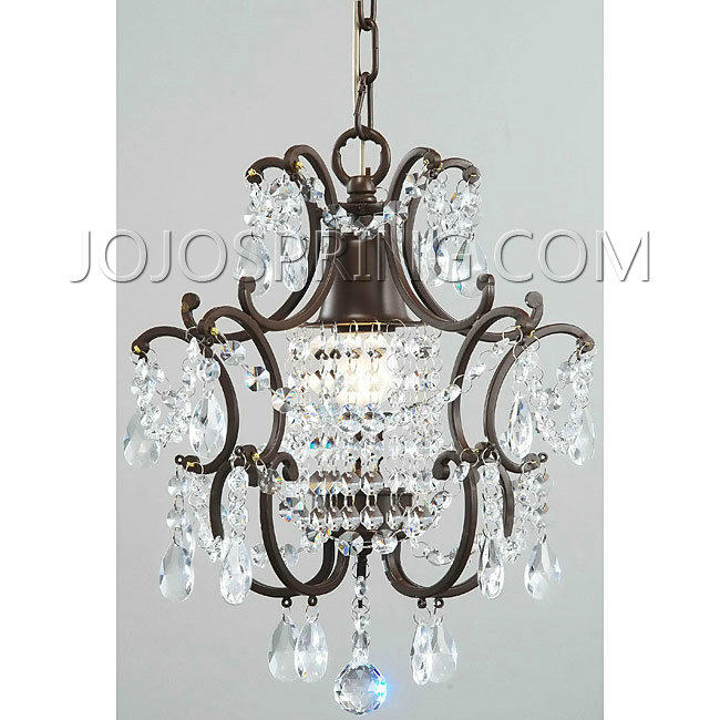 Clear Crystal Brown Base Chandelier - BDC-47SJ