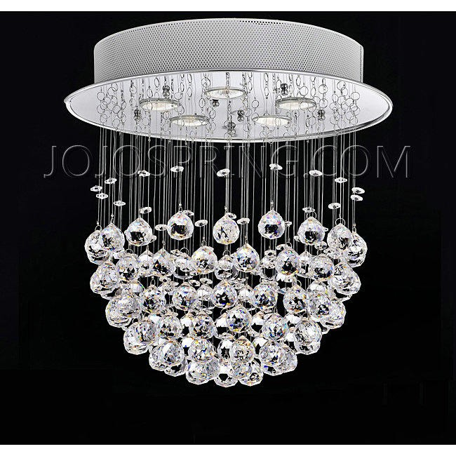 Crystal Bowl Four-light Chandelier - L757-FL-351