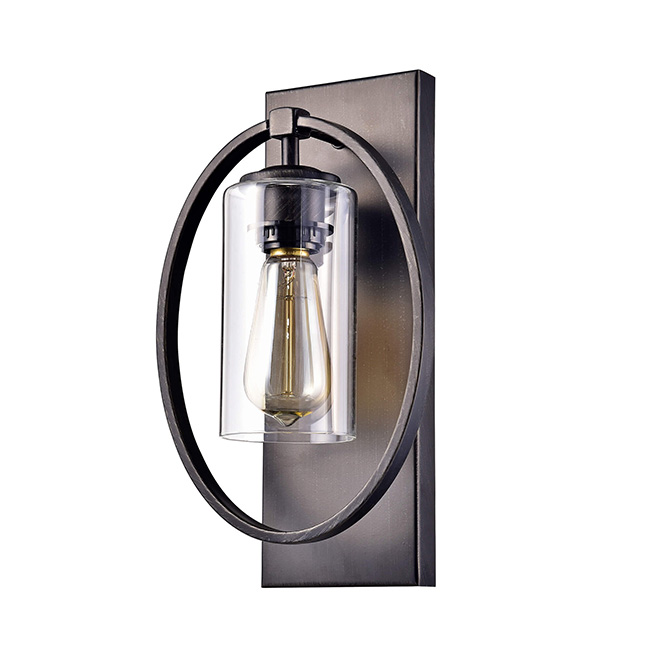 Anastasia single light wall sconce with clear glass shade fd 9604 anastasia single light wall sconce with clear glass shade fd 9604 pel mozeypictures Images