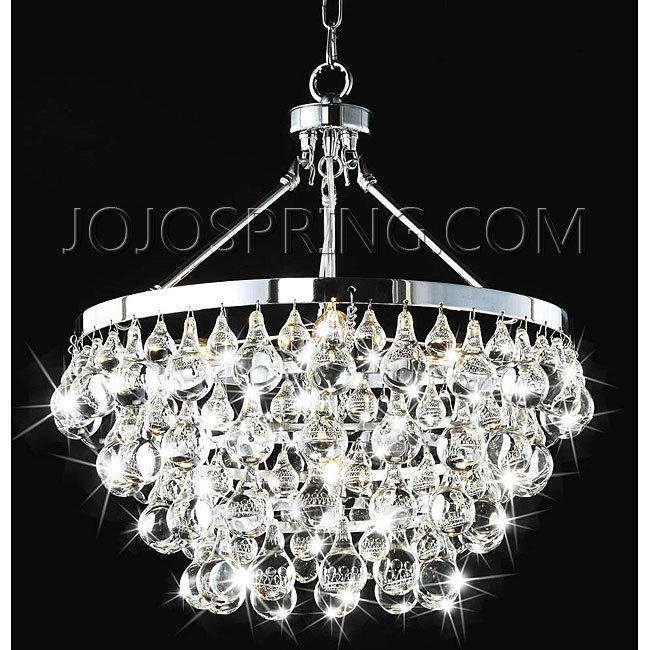 Indoor 5-light Luxury Crystal Chandelier - BCB-028-A5H
