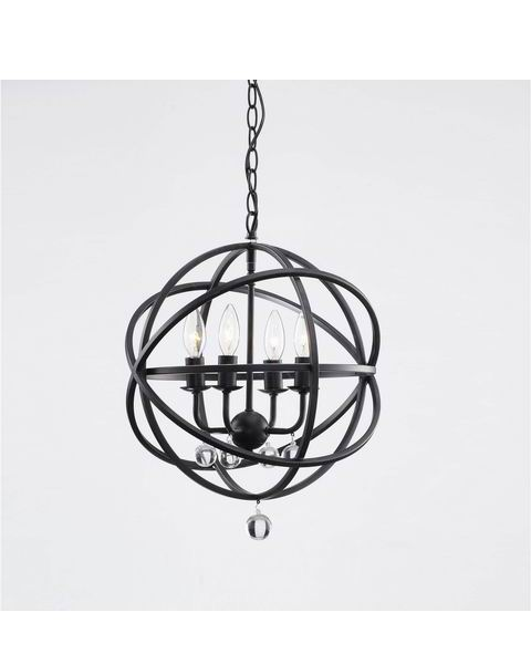Sphere Crystal Chandelier in Antique Black L201-TS-570