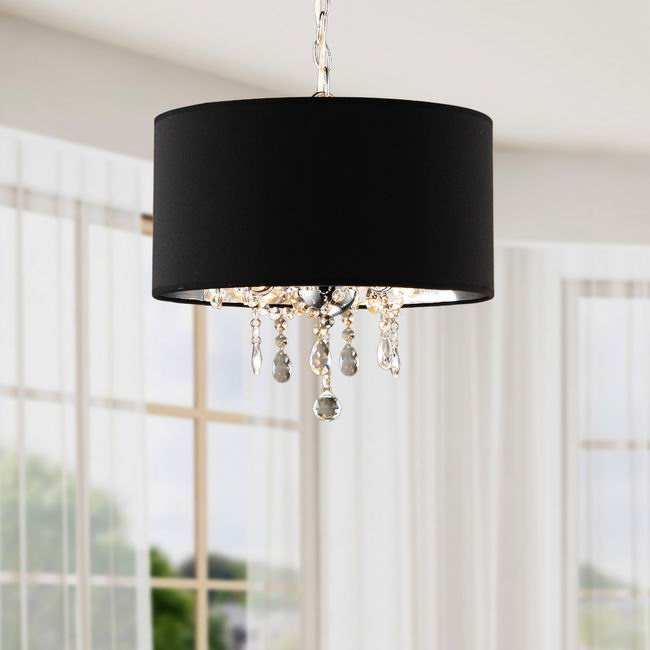 Lbc 047 bp3g indoor 3 light black chrome pendant chandelier lbc 047 bp3 aloadofball Gallery