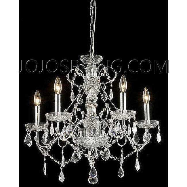 New Orleans 5-light Crystal Chandelier - BC56