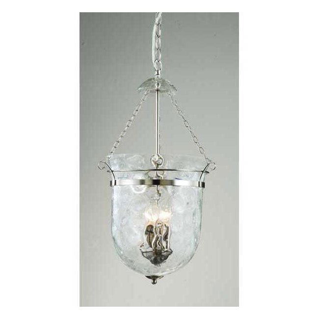 Nickel 3-light Lantern Chandelier - LJC-011-AN
