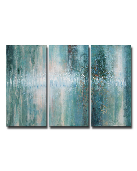Abstract 625' Hand-painted Oil Canvas Art Set OF-625-DFU