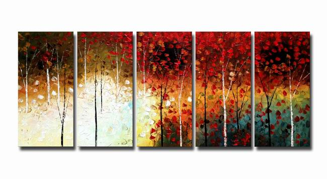 mangrove' 5-piece Gallery-wrapped Canvas Art Set OF-627-AZS