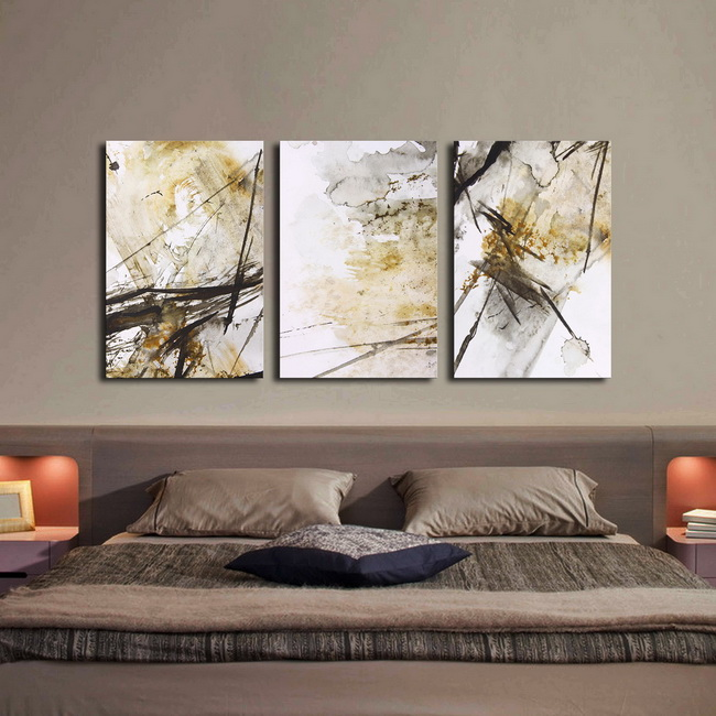 Big World' 3-piece Gallery-wrapped Print on Canvas Art Set OF-696-ZW
