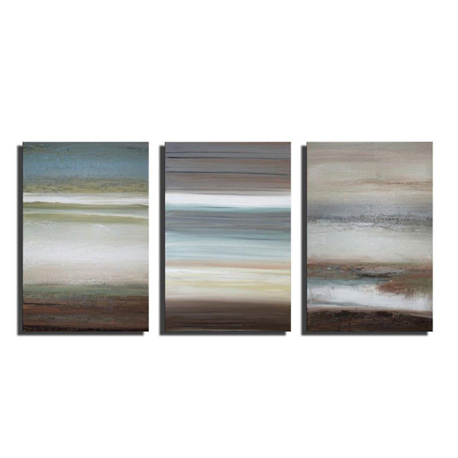 Hand-painted 'Unchained Melody' 3-piece Gallery-wrapped Canvas Art Set OF-716-QQR