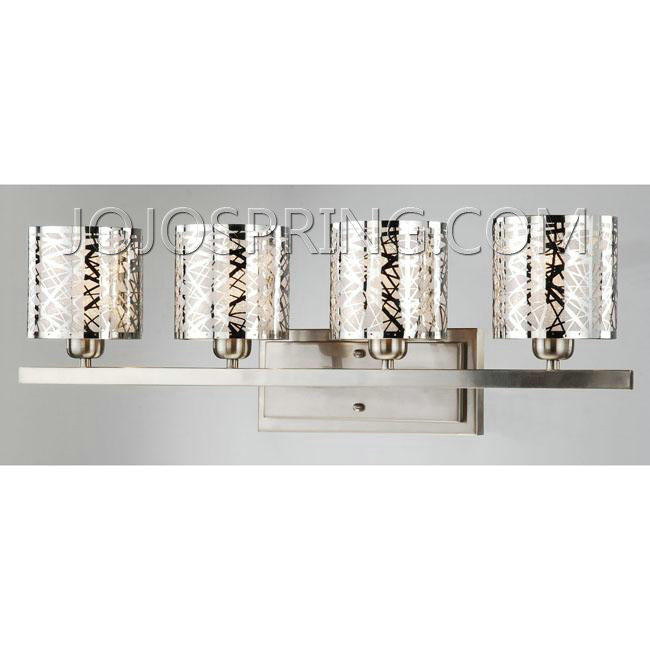 Otis Designs Satin Nickel 4-light Wall Sconce - B519-WST-219